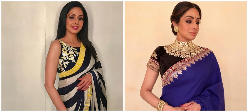 10 Sarees from Sridevi's Closet you can Draw Inspiration From!