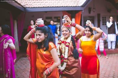 Ganga pooja ceremony.