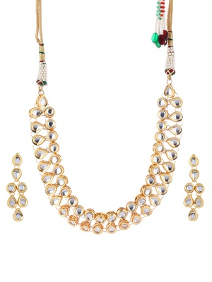 Imli Street Kundan and Pearl Necklace Set
