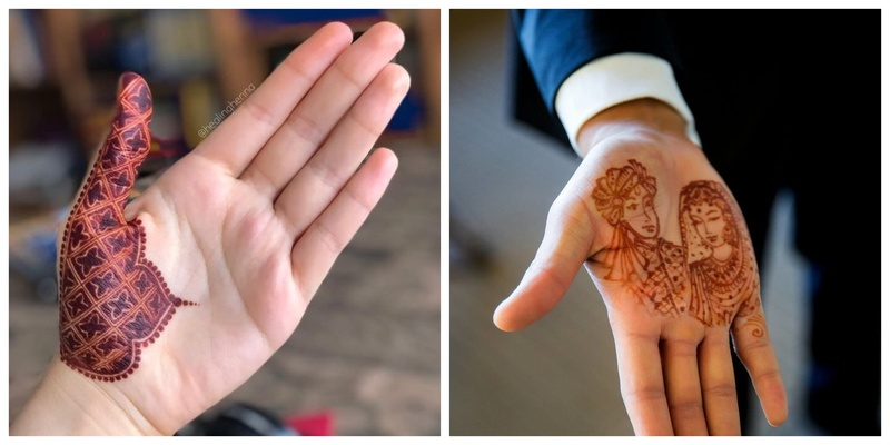6 Captivating Mehendi Designs for the Groom