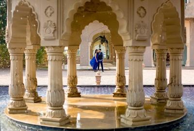 Royal destination wedding ceremony held at Fairmont, Jaipur