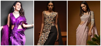 10 Concept Sarees You Can Wear to Attend Home Weddings!