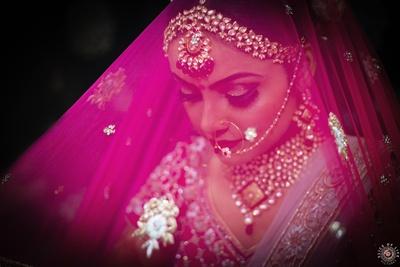 The classic bridal shot