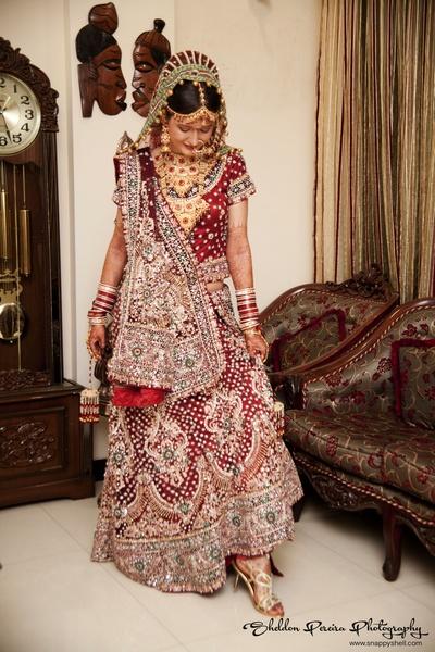 Heavy bridal lehenga designs