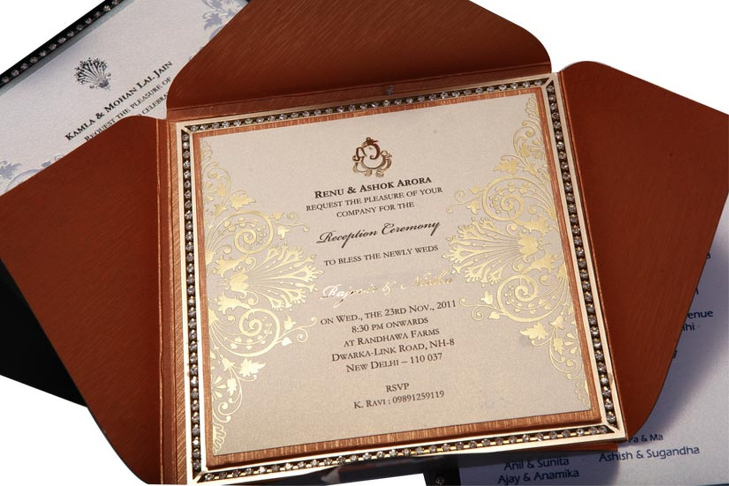 Ravish Kapoor Innovative Invitations Wedding Invitation Car