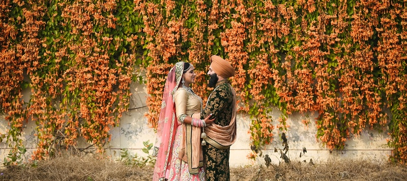 Varinder & Pavnique Ludhiana : Pretty Pink Sikh Wedding held at Hyatt Regency, Ludhiana