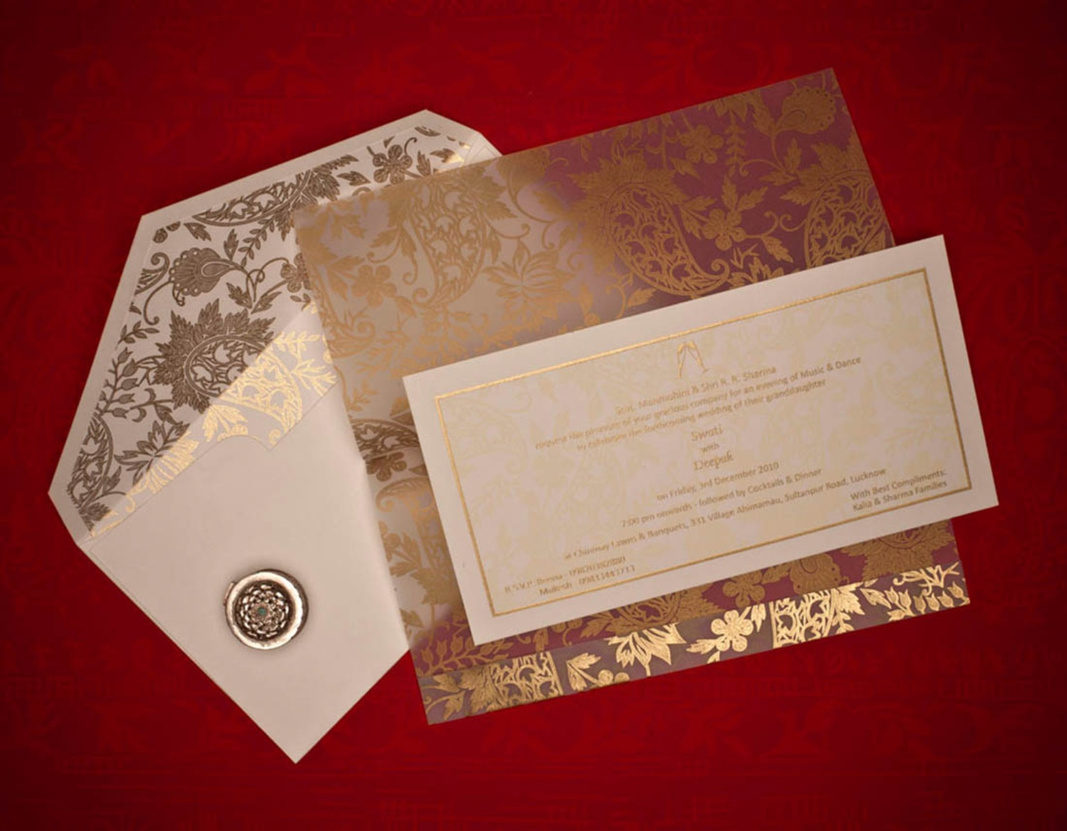 Ikon Cards, Wedding Invitation Card in Churchgate, Mumbai | WeddingZ