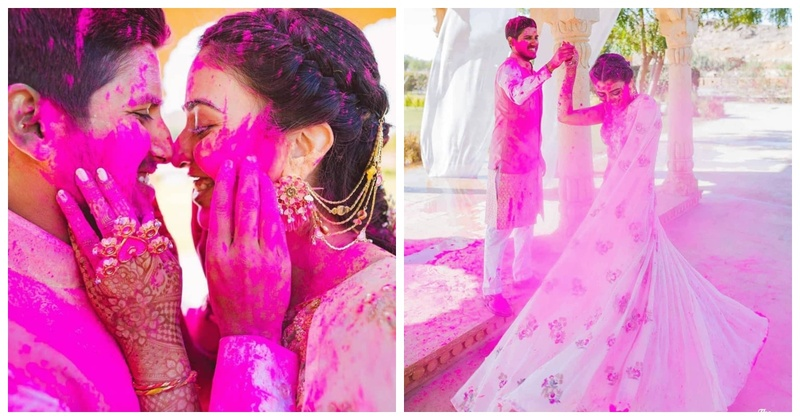 Post Holi care tips for brides and grooms – straight from the experts!