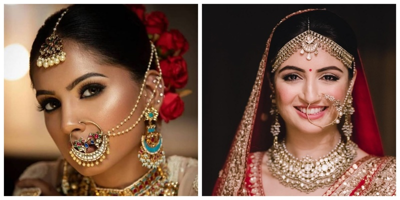9 Beautiful Nath Designs to Enhance Your Bridal Look
