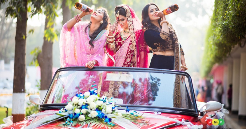 Alcohol and Weddings? Best Combination Ever!