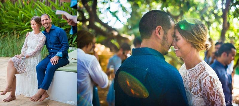 Opal & Ollie Goa : Uber Pinterest-y Wedding Green Wedding held in Ashwem, Goa