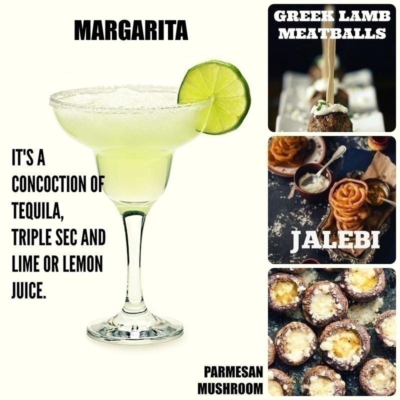 Mind-blowing Margarita with Hot and Crispy Jalebi Anyone?!