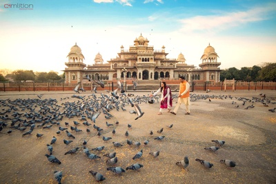 Beautiful pre-wedding shoot in Jaipur by Camlition Productions.