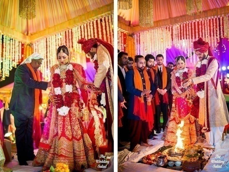 Traditional rich hindu wedding at whistling woods ludhiana blog the wedding junglespirit Choice Image