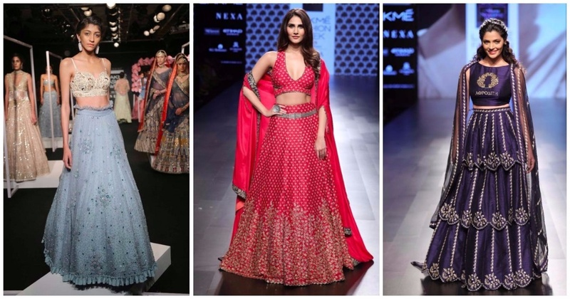 Lehenga Trends For The Modern Bride and Bridesmaid - Lakme Fashion Week W/F 2017 (Day 4)