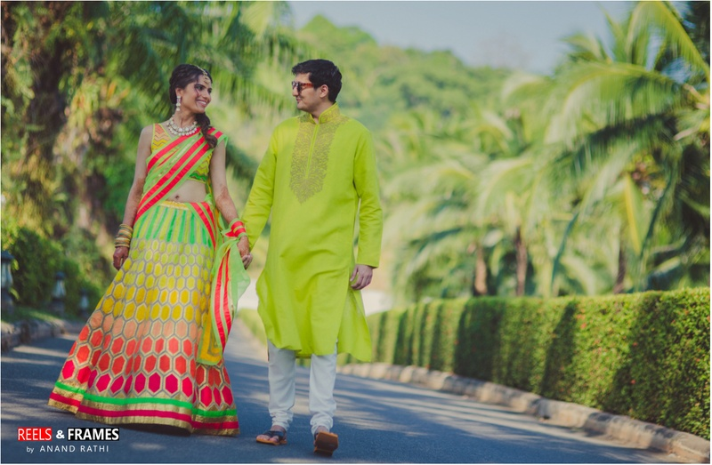 Neon-Themed Indian Wedding Held at Sofitel Spa and Golf Resort, Thailand.