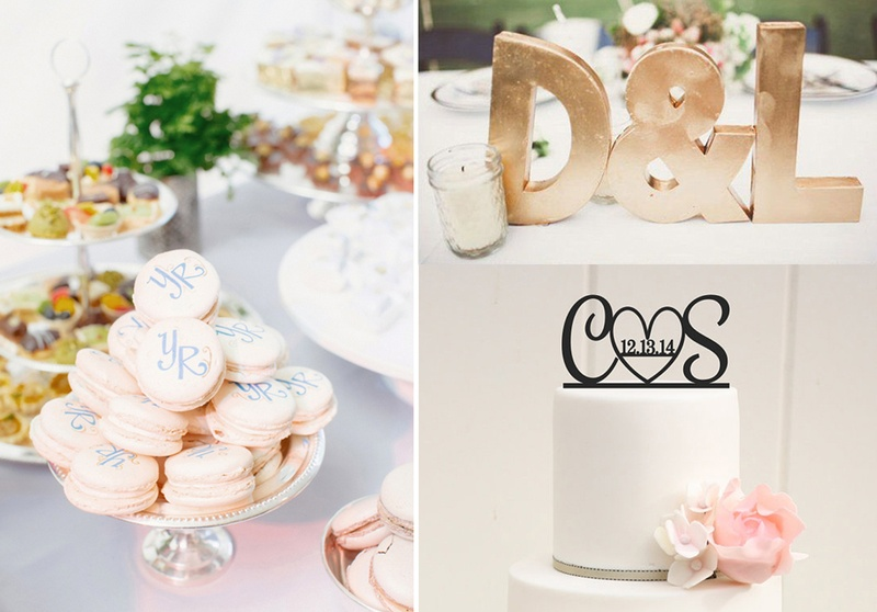 Ways of Incorporating Your Initials in Your Wedding Decorations for a Personal Touch