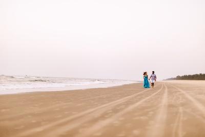 Beach pre wedding shoot at Goa
