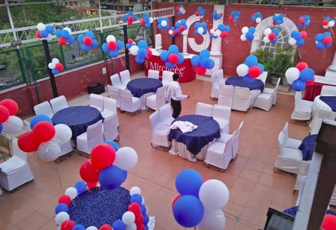 Hi Mirchee Dwarka Delhi - Banquet Terrace