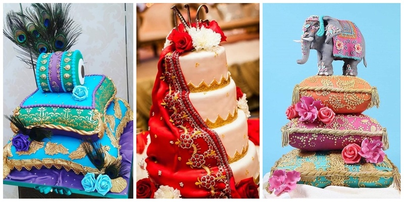 10 quirky wedding cake designs that will make you order yours now!