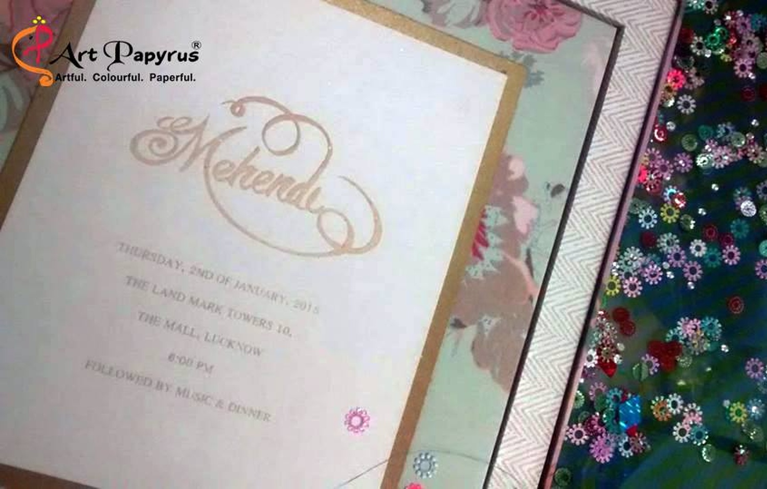 Papyrus Wedding Invitations: Art Papyrus, Wedding Invitation Card In Delhi