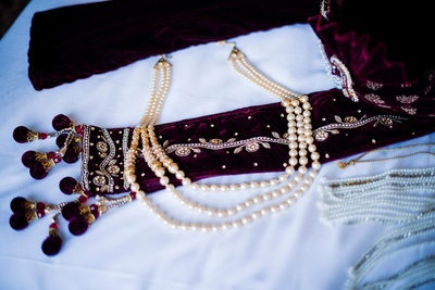 groom's accessory for the wedding ceremony