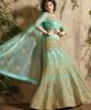 Variation Blue Georgette Designer Ghaghra Choli image
