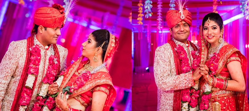Akshay & Swati Mumbai : Traditional Wedding Ceremony Set in Gorgeous Hues of Pink and Red