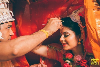 Sid and Rupa getting hitched.