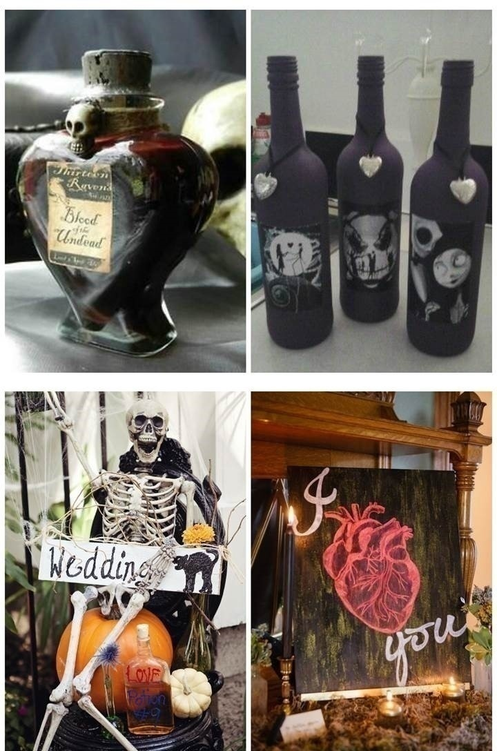 GOTHIC WEDDING DÉCOR