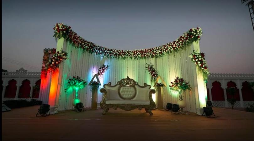 Ram Baug Party Palace And Banquet Hall Borsad Road Baroda - Banquet Hall