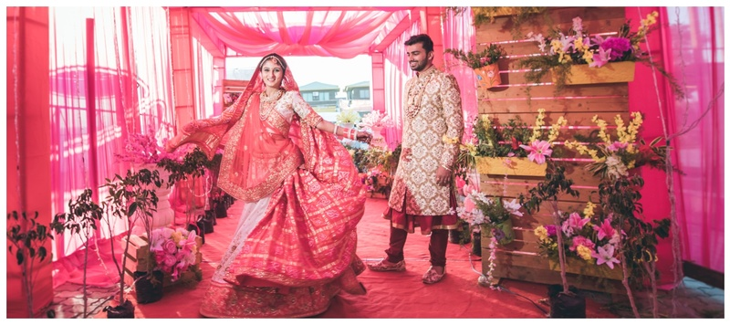 Harsh & Sakhi Igatpuri : A breathtaking wedding midst the mountains with a stunning couple!