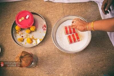 Chooda ceremony preparations