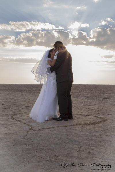 Wedding shoot at the beach