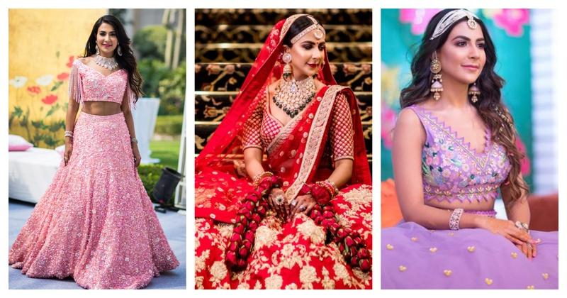 This bride wore the most offbeat outfits for her wedding and it's absolutely drool-worthy!