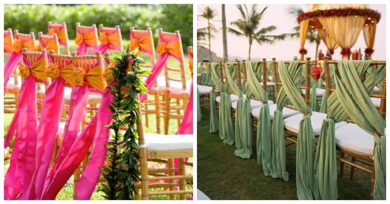 10 chair decor ideas that are major inspiration for your wedding ceremony!