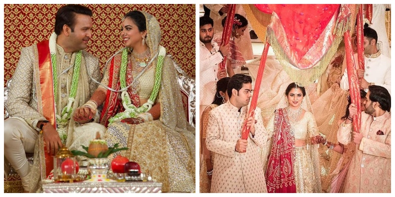 All the inside pics & deets from the big fat Isha Ambani wedding!