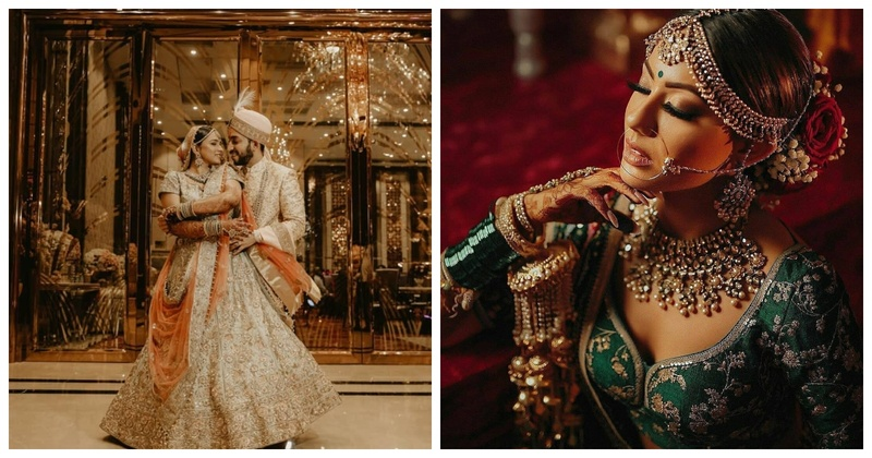 7 Brides Who Chose Colours Besides Red For Their Lehenga