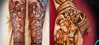 20 Mehendi Designs to Celebrate Krishna Janmashtami