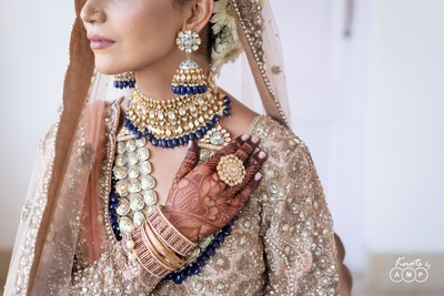 Ain's bridal jewellery is #JewelleryGoals for us!