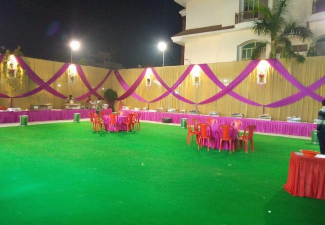 Dharamveer Om Sai Vatika R J Puram Gwalior - Wedding Lawn