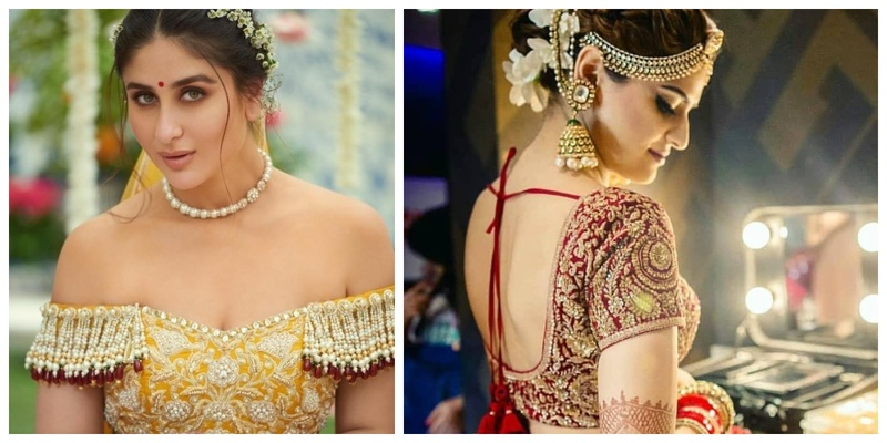 22 Gorgeous Front and Back Blouse Designs for the Modern Bride!