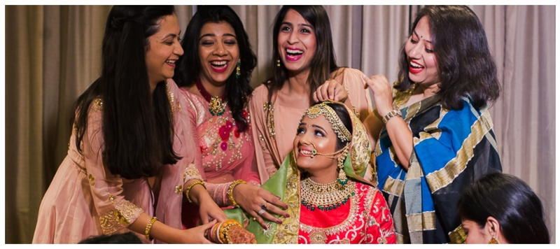 Mohit & Mansi Udaipur : This bride had the most chilled-out girl gang and you are sure to get #MajorBridesmaidsGoals!