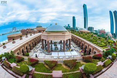 Venue photography of the Emirates palace, Abu Dhabi