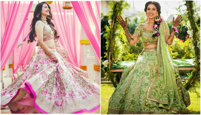 15 Best Mehndi Outfits from 2017 - #Weddingz2017Rewind!