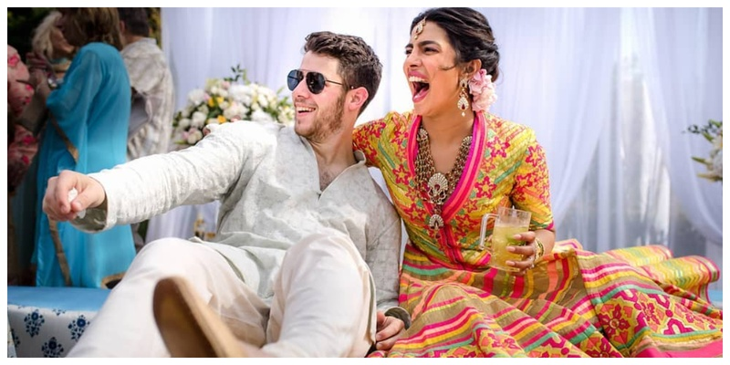 Priyanka Chopra and Nick Jonas are a Married Couple now and here are the exclusive pictures from their Pre-wedding ceremony!