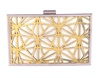 Ank Gold-Off White Clutch image