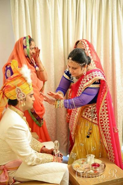 Traditional marwari wedding rituals
