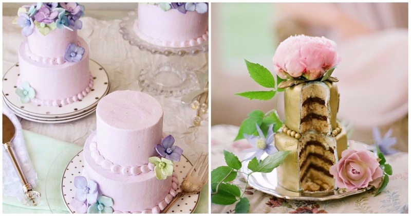 Mini Wedding Cakes - This New Wedding Dessert Trend Is Adorable!