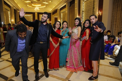 Wedding photographs clicked by Siddha Photography